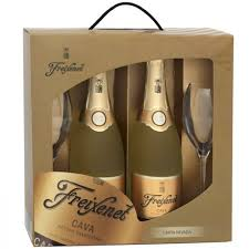 Kit c/ 2 Freixenet Carta Nevada 750ml + 2 ta�as